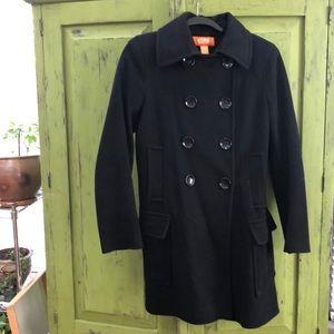 Michael Kors black wool peacoat, size 8
